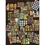 Glittered Victorian Scrap Picture Assortment - 25 Sheets - Motifs Of The 50th [825-5] - ON SALE!