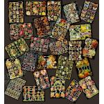Glittered Victorian Scrap Picture Assortment - 25 Sheets - Spring / Easter [825-9] - ON SALE!