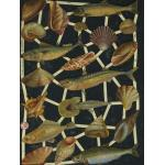 Glittered Victorian Scrap Pictures [7247G] - Sea Life - ON SALE!