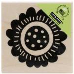 Hero Arts - [F5727] Scalloped Flower