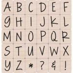 Hero Arts - [LL243] Happy Uppercase Alphabet