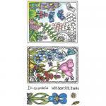Hampton Art Color Me Clear Stamp Set - Grateful [SC0720]