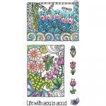 Hampton Art Color Me Clear Stamp Set - Life [SC0719]