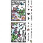 Hampton Art Color Me Clear Stamp Set - Love [SC0722]