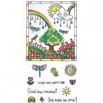 Hampton Art Color Me Clear Stamp Set - Sunshine [SC0724]