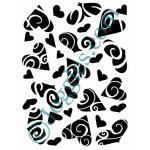 Joggles Stencils - Hearts A Plenty [10-33781]