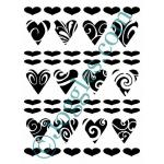 Joggles Stencils - Heart's Delight [10-33773]