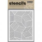 Hero Arts Stencils - Cubic Background [SA066]