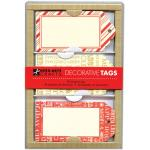 Hero Arts Decorative Tags - [PS642] Christmas Stripes