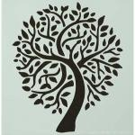 Hot Off The Press Stencil - Family Ties Tree [9254]