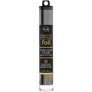 iCraft Deco Foil Transfer Sheets - Pewter [51225]
