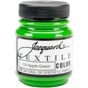Jacquard Textile Color - Apple Green