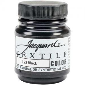 Jacquard Textile Color - Black