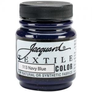 Jacquard Textile Color - Navy Blue