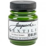 Jacquard Textile Color - Olive Green