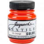 Jacquard Textile Color - Orange