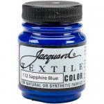 Jacquard Textile Color - Sapphire Blue