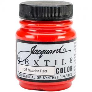 Jacquard Textile Color - Scarlet Red
