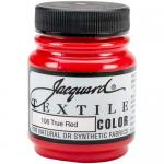 Jacquard Textile Color - True Red