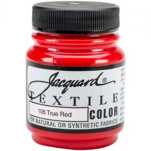 Jacquard Textile Color - True Red