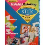 Jacquard InkJet Silk Fabric