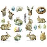 Joggles Collage Sheets - Bunnies & Eggs [JG401092]