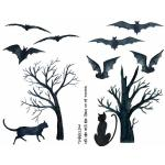 Joggles Collage Sheets - Cats And Bats And Trees Oh My [JG401066]