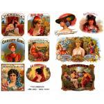 Joggles Collage Sheets - Cigar Labels - Ladies [JG401063]