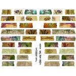 Joggles Collage Sheets - Collage Washi Tape [JG401055]
