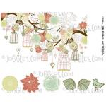 Joggles Collage Sheets - Garden Party [JG401107]