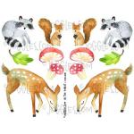 Joggles Collage Sheets - In The Forest I [JG401106]