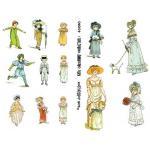 Joggles Collage Sheets - Kate Greenway Characters I [JG401050]