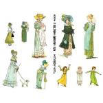 Joggles Collage Sheets - Kate Greenway Characters II [JG401051]