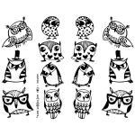 Joggles Collage Sheets - Owls 1 [JG401094]