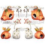 Joggles Collage Sheets - Pumpkin Season III [JG401133]
