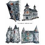 Joggles Collage Sheets - Scary Houses [JG401065]