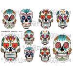 Joggles Collage Sheets - Sugar Skulls I [JG401124]