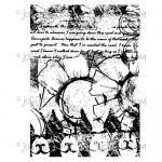 Joggles / Margaret Applin Designs Cling Mounted Rubber Stamp - Garden Collage [56773]