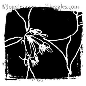 Joggles / Margaret Applin Designs Cling Mounted Rubber Stamp - Garden Party #1 [56777]