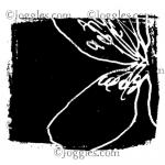 Joggles / Margaret Applin Designs Cling Mounted Rubber Stamp - Garden Party #2 [56782]