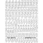 Joggles Sticky Snippets™ - Alphabetica [57736] - ON SALE!