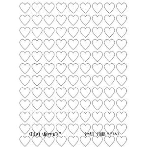 Joggles Sticky Snippets™ - Small Hearts [57737] - ON SALE!