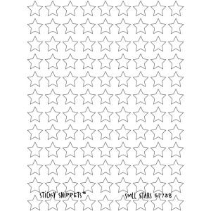 Joggles Sticky Snippets™ - Small Stars [57738] - ON SALE!