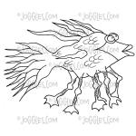Joggles / Virginia England Cling Mounted Rubber Stamp - Percy Goodfish [56805]