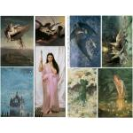 Joggles Collage Sheets - Fabulous Fine Art I [JG401003]