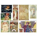 Joggles Collage Sheets - Art Nouveau Posters I [JG401007]