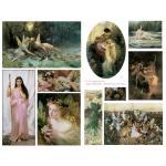 Joggles Collage Sheets - Fine Art Fairies [JG401012]