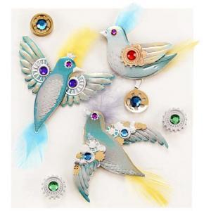 Jolee's Boutique Steampunk Birds [50-21070]