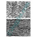 Joggles Stencils - Animal Textures: Zebra & Croc [10-33761]
