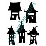 Joggles Skinny Minny Mask - More Wonky Houses [10-33769]